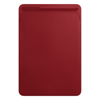 Apple Leather Sleeve for 10.5‑inch iPad Pro — (PRODUCT)RED