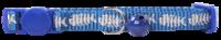 Pawise: Cat Collar - Fishbone/Black/Red/Blue Asst. image