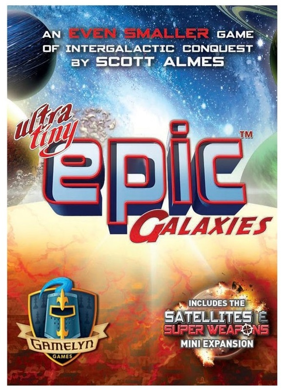 Ultra Tiny: Epic Galaxies - Board Game