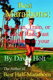 Best Marathons by David Holt image