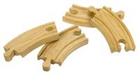Bigjigs Rail Accessories - Short Curved Track Pieces