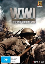 World War 1: The First Modern War DVD