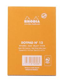 Bloc Rhodia Dot Pad (Orange) image
