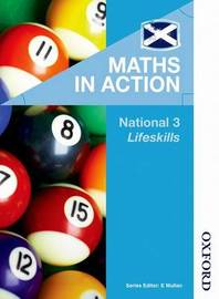 Maths in Action National 3 Lifeskills by Robin Howat