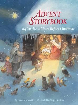Advent Storybook by Antonie Schneider image