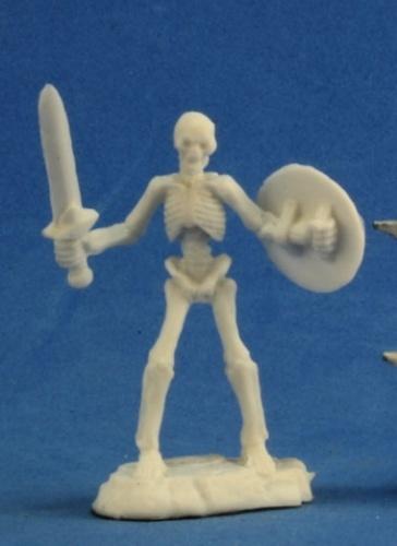 Dark Heaven Bones - Skeleton Warriors with Swords (3-pc)
