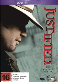 Justified: The Complete Seasons 1-6 on DVD
