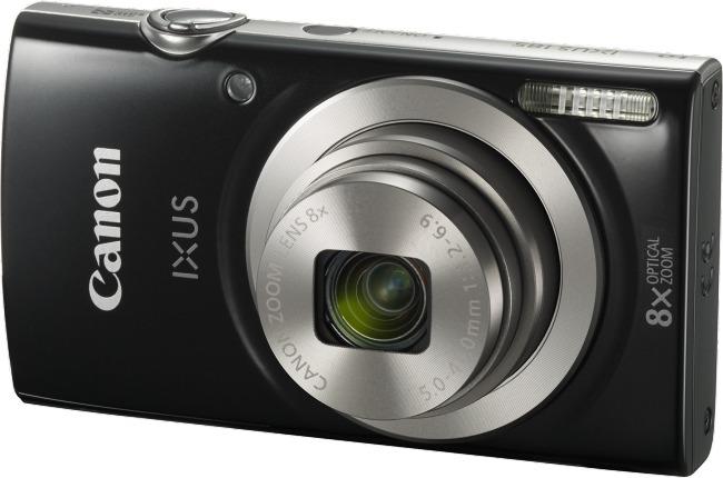 Canon IXUS 185 Black Digital Camera image