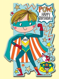 Rachel Ellen: Pow Superhero Birthday