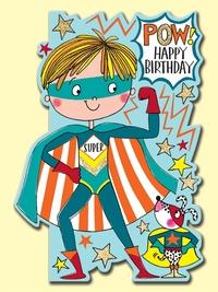 Rachel Ellen: Pow Superhero Birthday