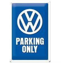 Nostalgic Art: Tin Sign - VW Parking