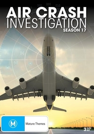 Air Crash Investigation Season 17 on DVD