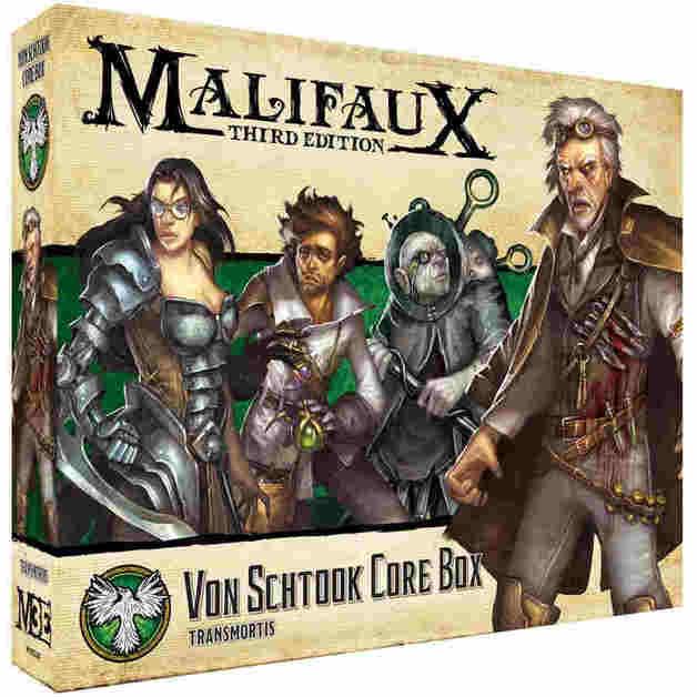 Malifaux: Resurrectionists - Von Schtook Core Box