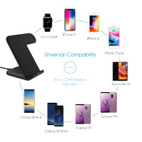 Ape Basics 2 in 1 wireless charging stand Pro image