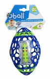 Oball: Grab n Rattle Football - Blue
