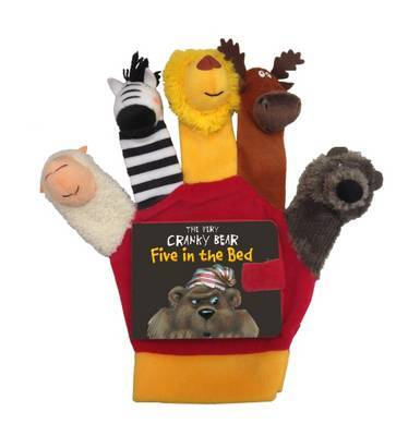 Very Cranky Bear: Five in the Bed Hand Puppet by Nick Bland