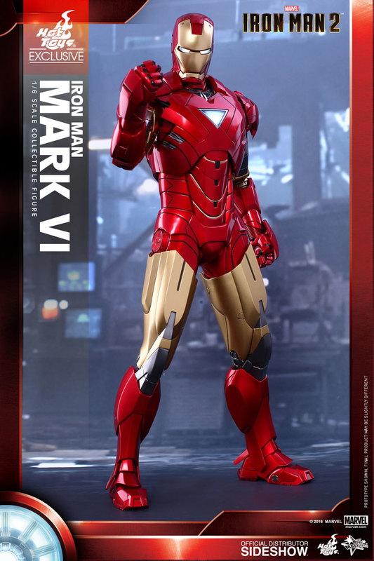 Iron Man 2 - Mark VI 1:6 Scale Collectible Figure