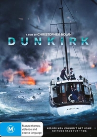 Dunkirk on DVD image