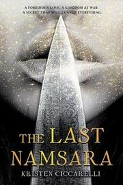 The Last Namsara by Kristen Ciccarelli image