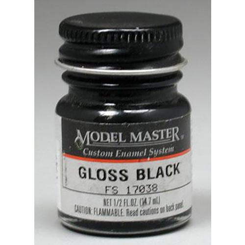 Testors: Enamel Paint - Black (Gloss)