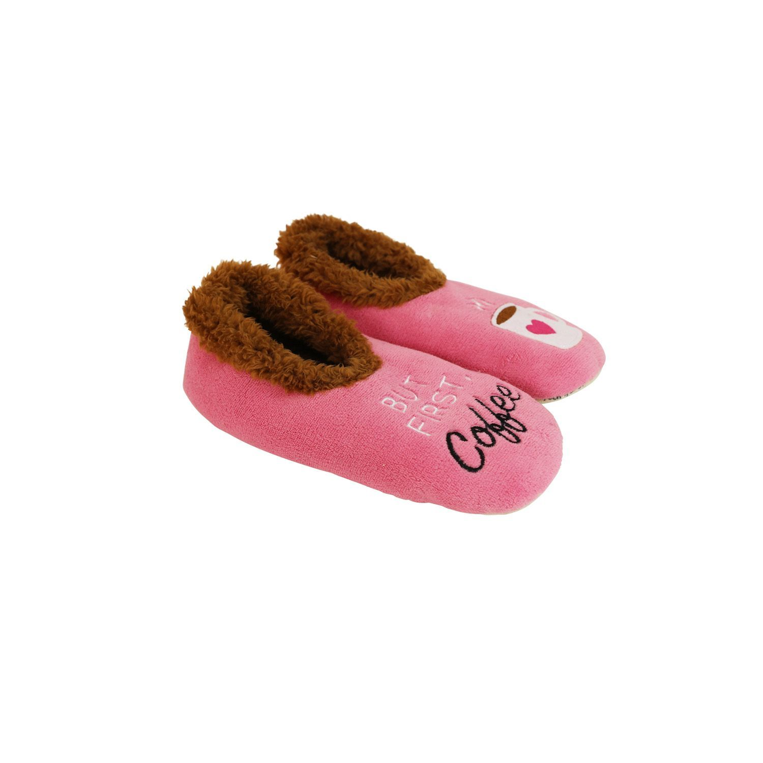 Slumbies But First Coffee Pairables Slippers (S) image