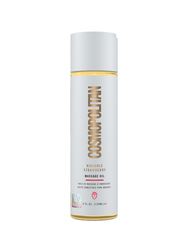 CosmoSutra Kissable Strawberry Massage Oil (120ml)