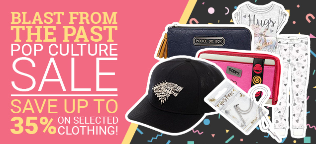 Blast from the Past Pop Culture Sale!