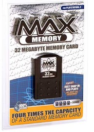 MAX PS2 Memory Card - 32MB for PlayStation 2 image