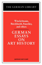 German Essays on Art History image
