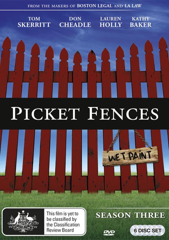 Picket Fences - Season 3 on DVD