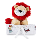 Aden + Anais Swaddle + Cuddly Companion (Lion)