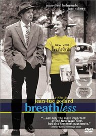 Breathless (1960) (Godard Collection) on DVD image