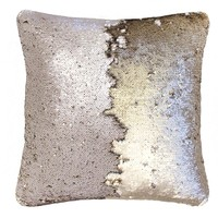 Bambury Shimmer Cushion Cover (Champagne/Gold)