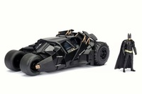 Jada 1/24 2008 Dark Knight Batmobile With Batman Diecast Model