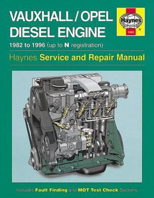 Vauxhall/Opel 1.5, 1.6 & 1.7 Litre Diesel Engine (82 - 96) Up To N by Haynes Publishing image