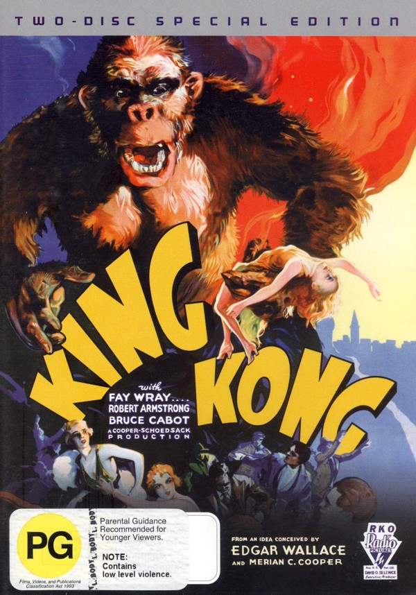 King Kong (1933) 2 Disc Set on DVD image