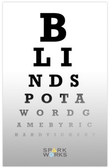 Blind Spot: Word Game