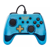Nintendo Switch Wired iConic Controller - Chrome Link for Switch