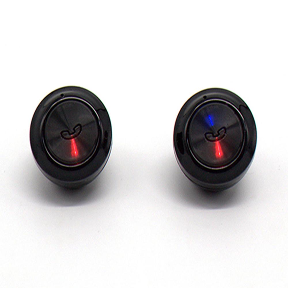True Wireless Bluetooth 5.0 In-Ear Earphones - Black image