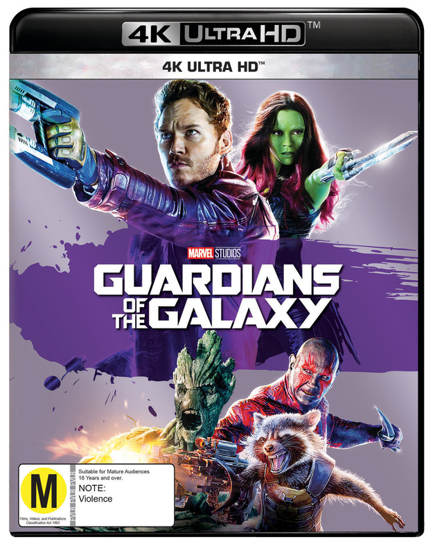Guardians Of The Galaxy (4K UHD) on UHD Blu-ray
