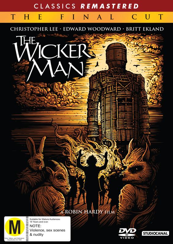 The Wicker Man: Final Cut (1973 Re-Release) on DVD