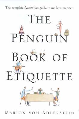 The Penguin Book of Etiquette by Adlerstein Marion von image