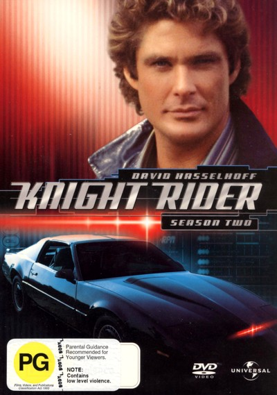 Knight Rider - Season 2 (6 Disc Box Set) on DVD image