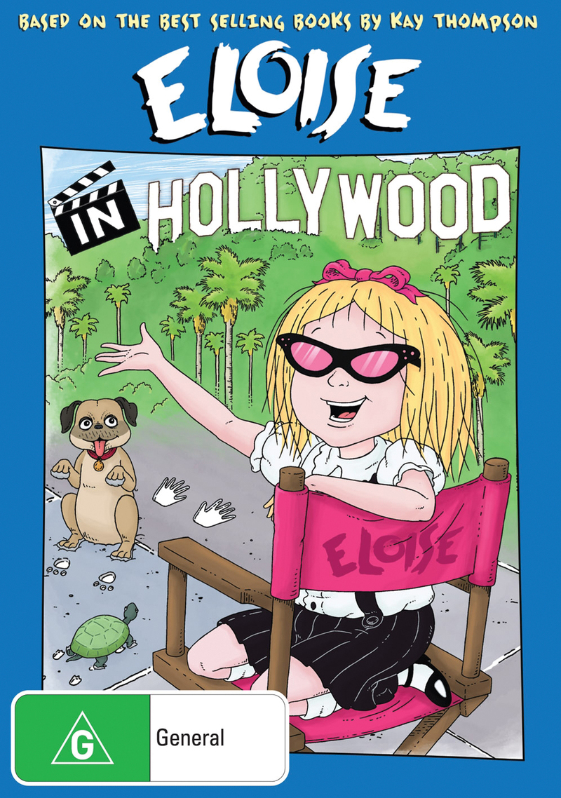 Eloise in Hollywood on DVD image