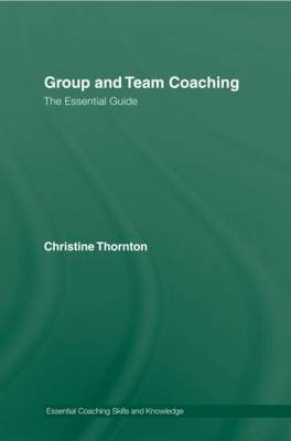 Group and Team Coaching by Christine Thornton image