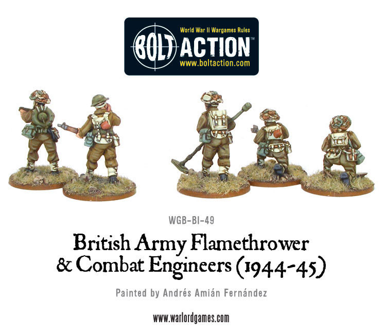 British Combat Engineers & Flamethrower Team image
