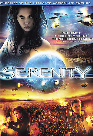 Serenity / Chronicles Of Riddick - Action 2 DVD Movie Pack (2 Disc Set) on DVD image