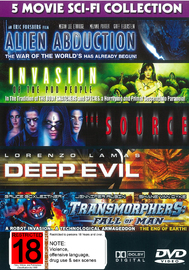 5 Movie - Sci Fi Collection DVD