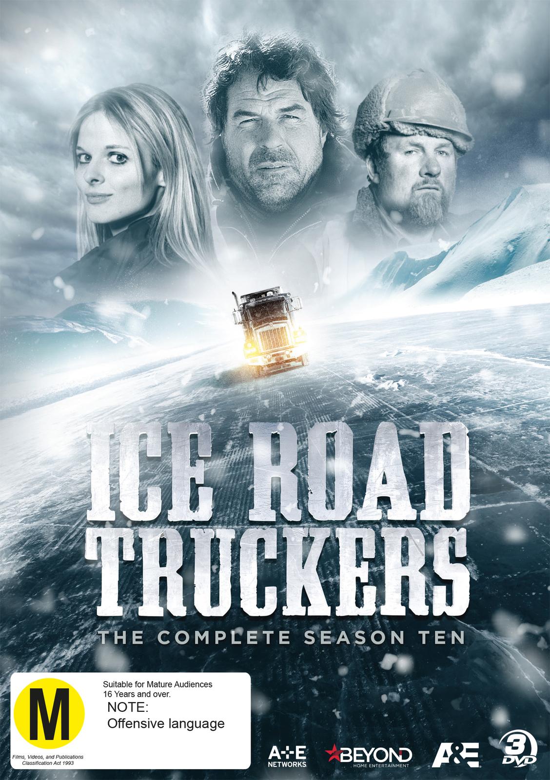 Ice Road Truckers - Season 10 on DVD image