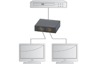 Digitus 4K HDMI 2-Way Powered Splitter image